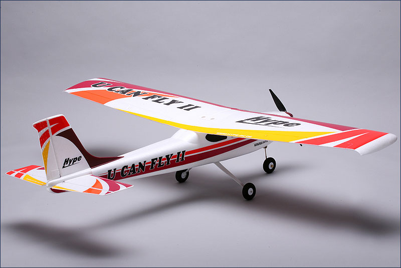 rc modell information u can fly ii arf rot bls servos. Black Bedroom Furniture Sets. Home Design Ideas